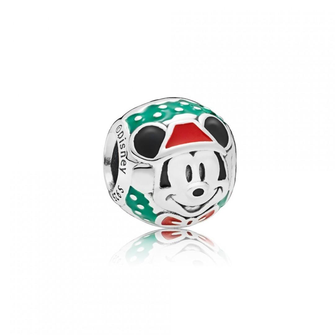 Conta PANDORA Disney Santa Mickey