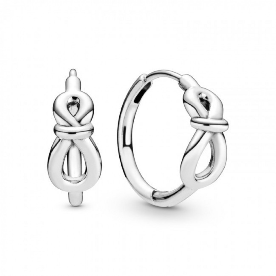 Brincos PANDORA Infinity Knot