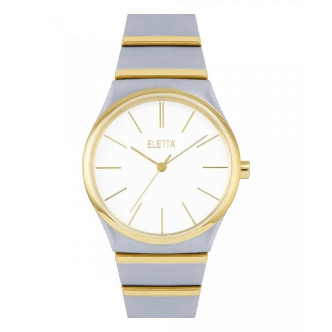 Relógio ELETTA Light Silver & Gold