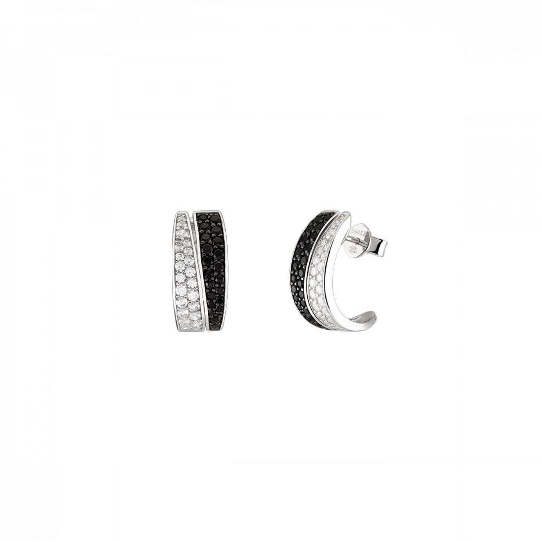 Brincos UNIKE Jewellery Classy Black Lines