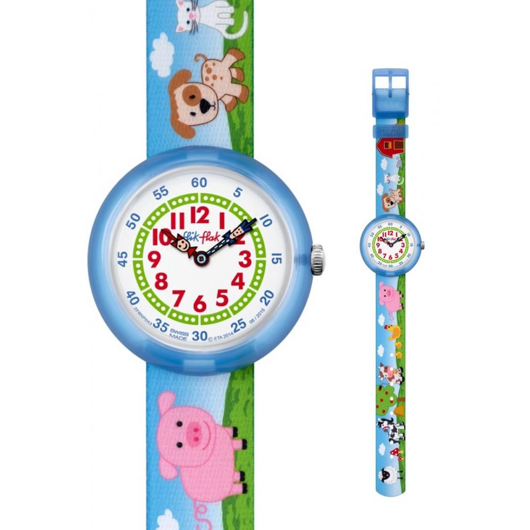 Relógio FLIK FLAK Color Blast Blue